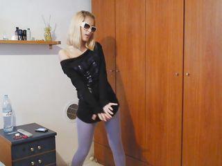 Порно много блондинок